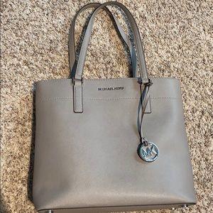 Michael Kors beautiful gray purse